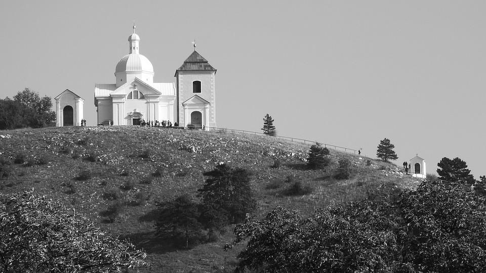 Svatý kopeček nad Mikulovem