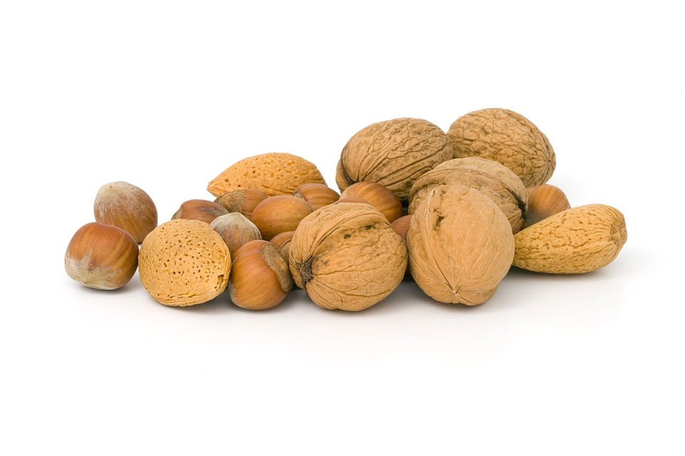 hromádka ořechu