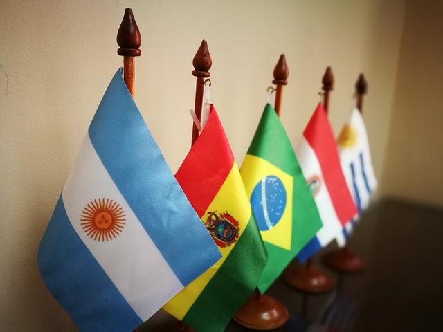 vlajky různých států