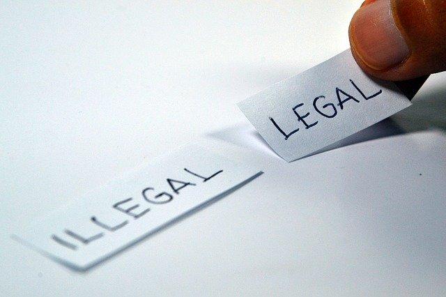 legalita, zákony