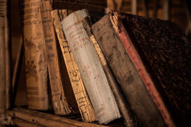 vůně starých knih