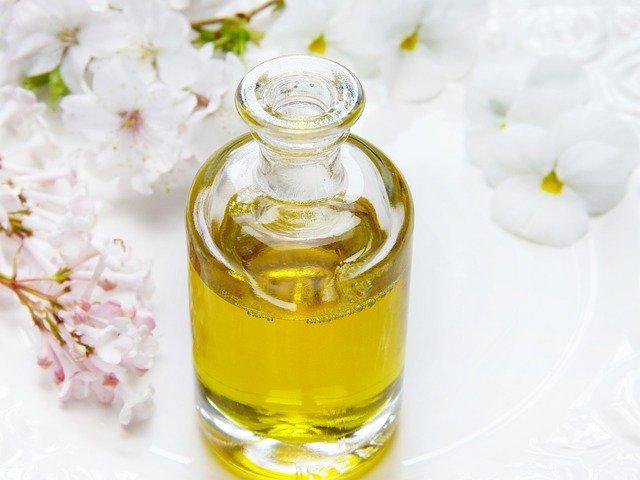 masážní olej
