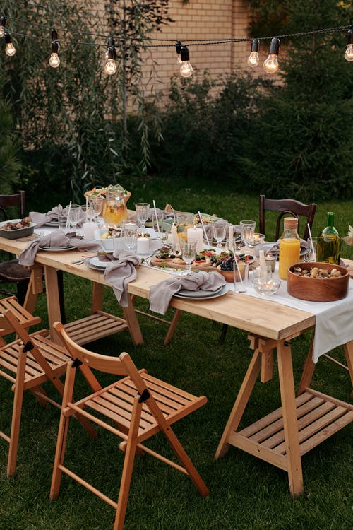 stůl zahrada